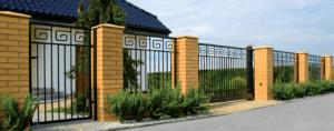recinzione piu cancello nuova metalporte