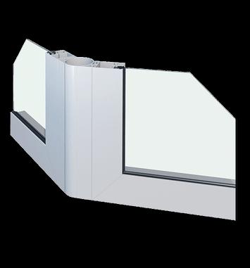 pareti in alluminio esterne