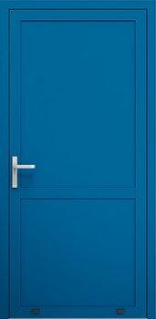 porta singola blu