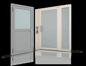 Porte a Profilo in Acciaio drzwi stalowe profilowe wisniowski