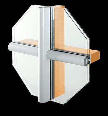 Facciate in alluminio MB-SR50 A
