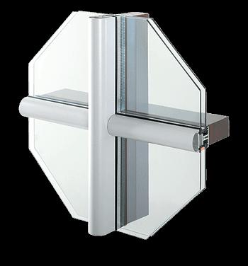 Facciate in alluminio MB-SR50PL