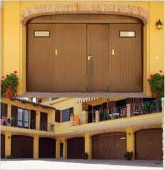 garage in finto legno